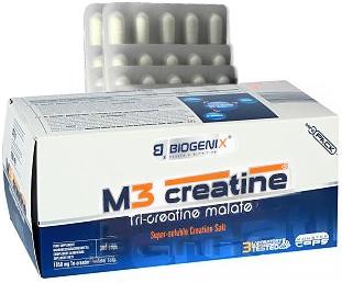 Biogenix M3 Creatine Tri-Creatine Malate 300 капсул Киев купить Украина