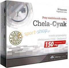 Цинк Olimp Chela-Cynk 30 капсул Киев купить Украина
