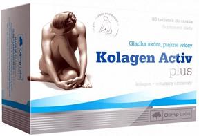 Olimp Kolagen Activ Plus 80 таблет Киев купить Украина