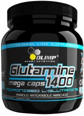 OLIMP L-Glutamine 1400 Mega Caps (300 капс) Киев купить Украина
