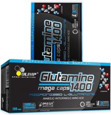 OLIMP L-Glutamine Mega Caps blister (120 капс) Киев купить Украина