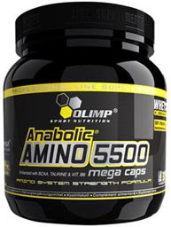 Olimp Labs Anabolic AMINO 5500 mega caps - 400 капсул Киев купить Украина
