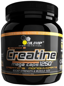 Olimp Labs CREATINE MEGA CAPS 1250 400 капсул Киев купить Украина