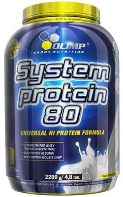 Olimp Labs System Protein 80 2200 гр Киев купить Украина