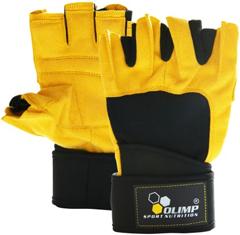 Olimp Raptor - спортивные перчатки для пауэрлифтинга и бодибилдинга Киев купить Украина