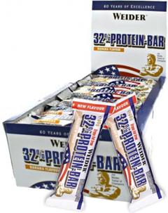 Протеиновый батончик Weider 32% Protein-bar (24 шт по 60 гр) Киев купить Украина