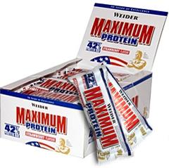 Weider 42% Maximum Protein bar (16 по 100 гр) Киев купить Украина