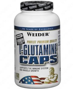 Weider L-Glutamine CAPS 160 Киев купить Украина