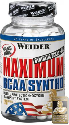 Аминокислоты Weider Maximum BCAA Syntho 240 капсул Киев купить Украина