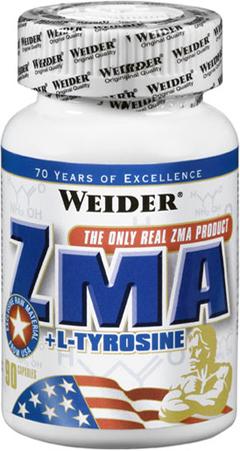 Weider ZMA + L-Tyrozine (магний цинк B6) 90 капсул Киев купить Украина